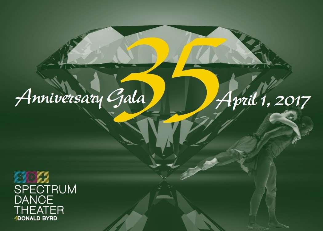 35th Anniversary Gala - Emerald Gem - April 1, 2017