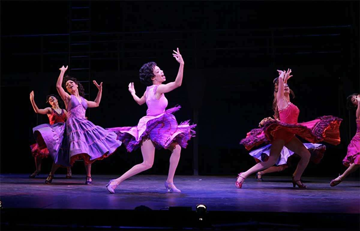 dancers performing west side story