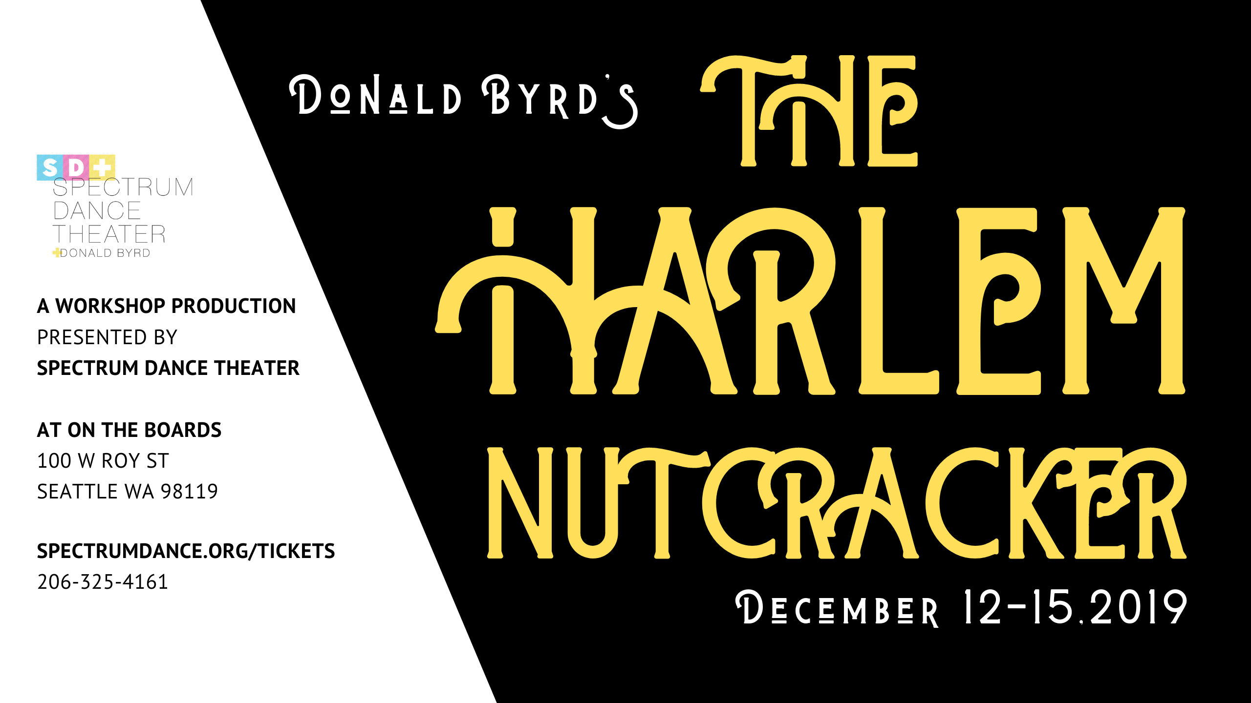 Event Cover - Harlem Nutcracker 2560x1440